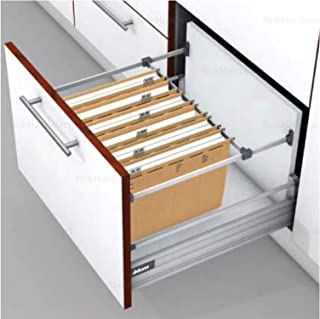 product image for Blum Metafile White Metal Kit for Filing Cabinet Hanging System