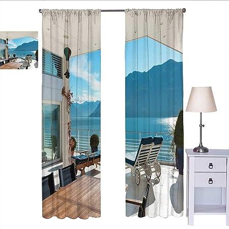 Cortinas De Decoración Moderna Para Dormitorios Terrazas