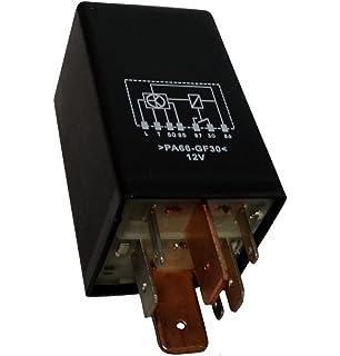 AERZETIX: Rele temporizador de precalentamiento C40260 compatible con 443911261 171911261E