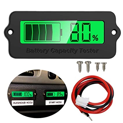 Automobiles & Motorcycles Chargers & Service Equipment Green Electronic Diy Kits Led Display Board 3.7v Lithium Battery Capacity Indicator Module Led Power Level Tester 12v