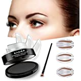 Turelifes 3 Pairs Of Seals Waterproof EyeBrow Stamp With Brow Brush Perfect Eye Power