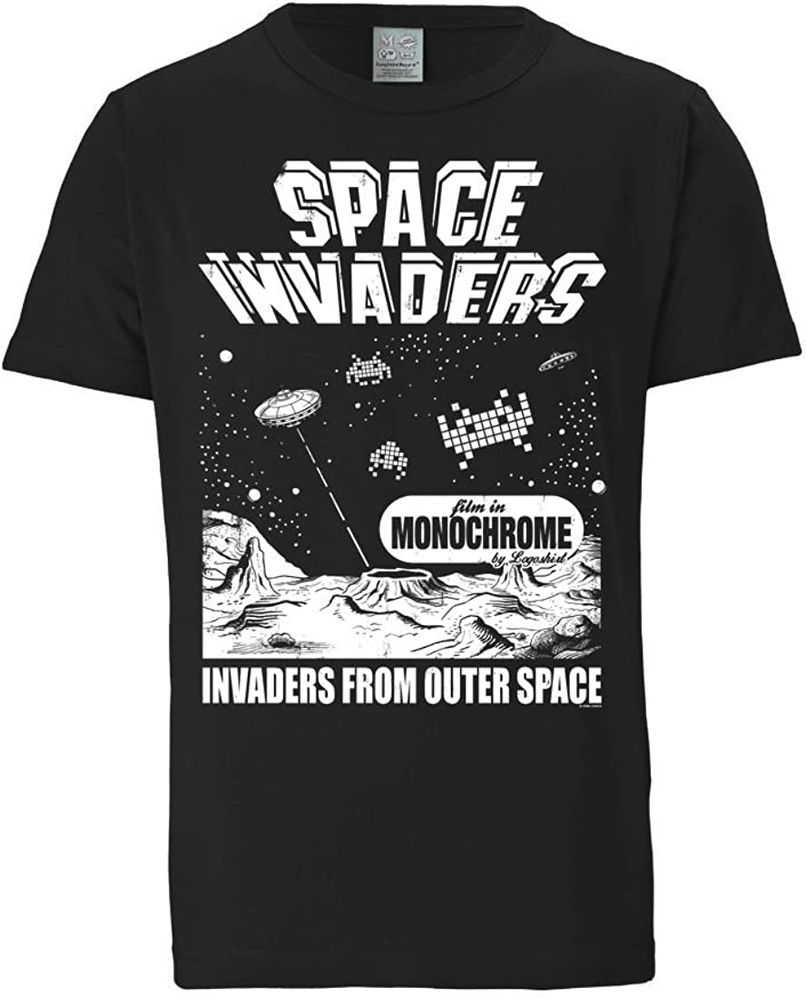 Logoshirt Invaders-from Outer Space Camicia Uomo