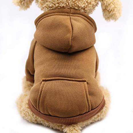 GHYSTORM Cute Dog Hoodie Pet Ropa para Perros para Perros ...