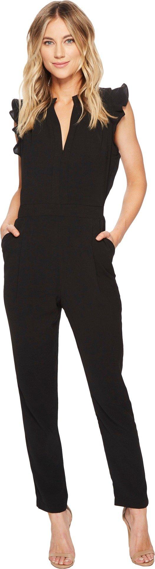 Adelyn Rae Women's Sadie Jumpsuit Black Small by Adelyn Rae