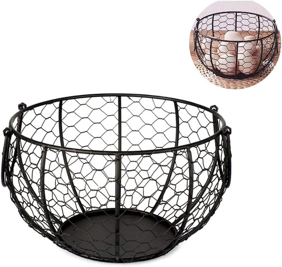 Yeyll Bo/îte /à /œufs en m/étal pour transporter et collecter des /œufs de poulet