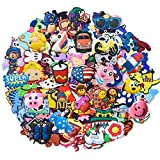 Lot of 25pcs Random PVC Different Shoe Charms for