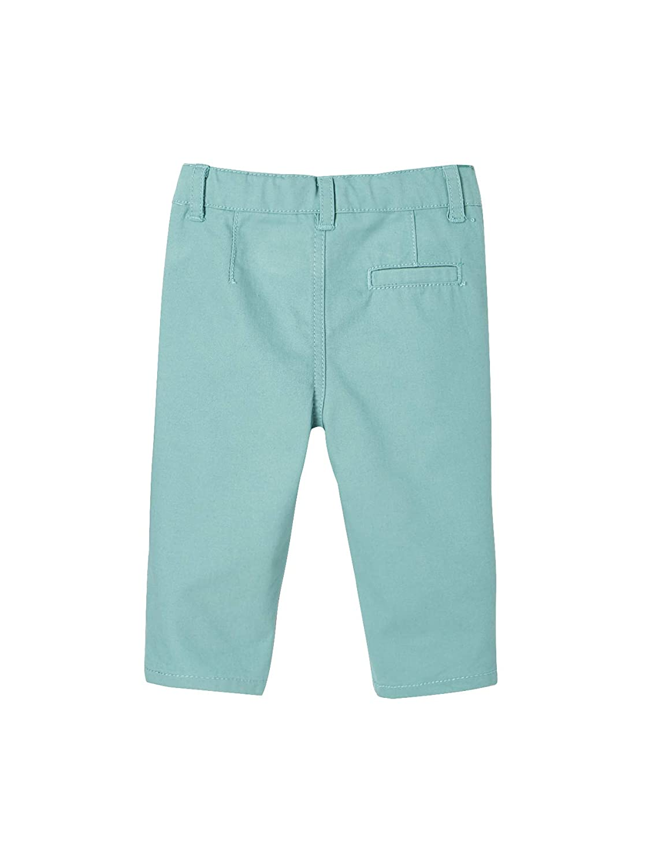 74CM Vertbaudet Pantalon Chino b/éb/é gar/çon Vert 12M