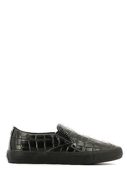 Guess FL4INGPEL12 Mocasines Mujer Cuero Negro 36: Amazon.es: Zapatos y complementos