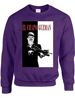 Allntrends Adult Creweneck Sweatshirt El Chapo