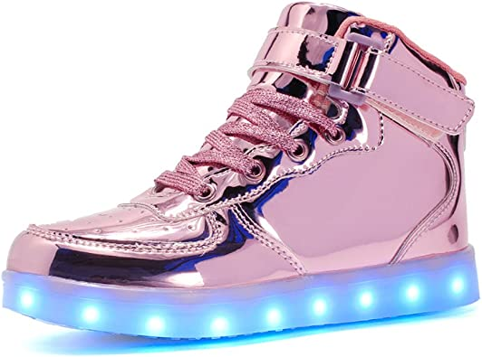 Believed Boys /& Girls /& Kids /& Toddlers LED Light Up Shoes Flashing Sneakers