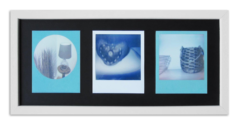 Amazon.de: WANDStyle Rahmen für Polaroid-Bilder Serie A850 weiß ...