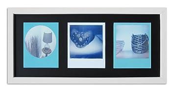 WandStyle Style de Photos Cadre pour Polaroid Serie A850 Blanc cérusé  Normal Mural en Verre avec 1d106d3d0845