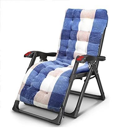 302f656a8ba2 Image Unavailable. Image not available for. Color: ZR- Folding Lounge Chair  Lunch Break Office Household Multifunctional Bed Lazy Beach Chair Easy Chair