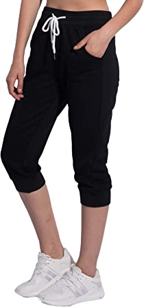 MIROL Drawstring Joggers Sweatpants for Women Elastic Waist Loose Fit Athletic Workout Track Pants with Pockets Lounge Wear