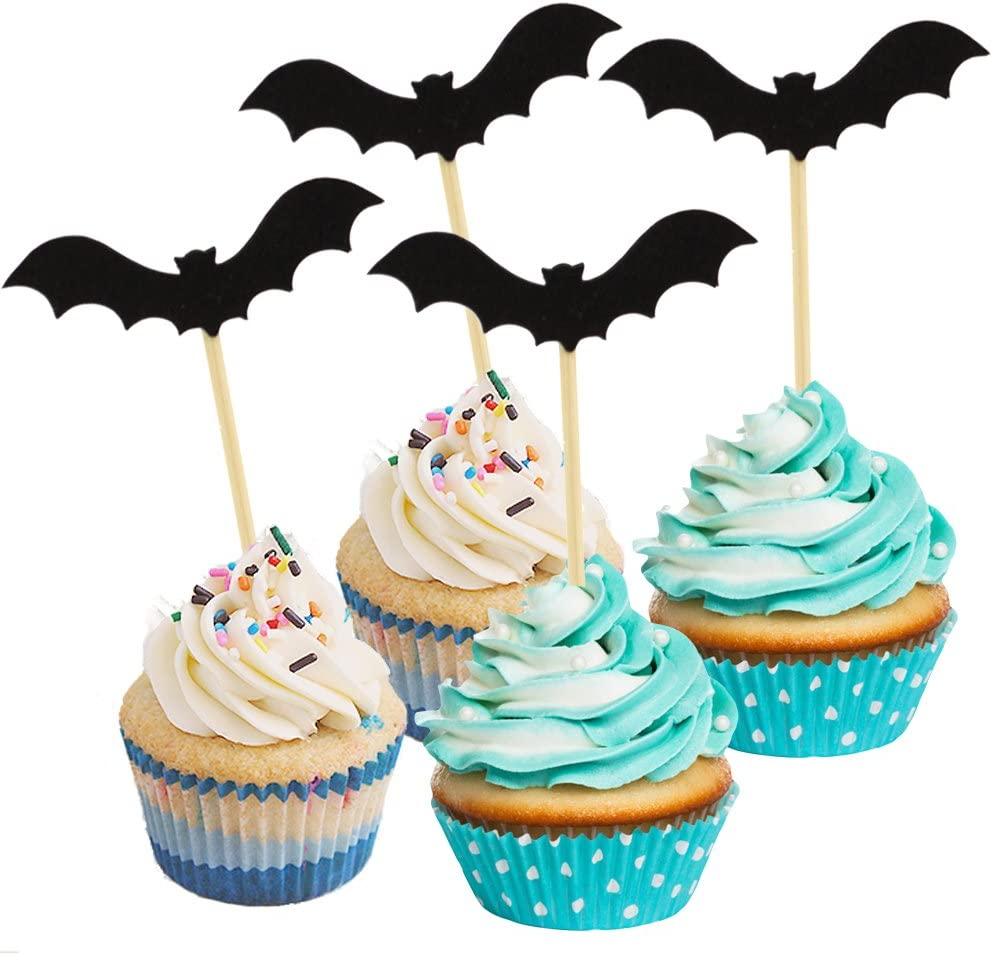 Bat Cupcake Picks