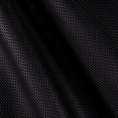 (Richloom Fabrics 0510952 Richloom Fortress Textured Marine Vinyl Thunder Black Fabric by the Yard)
