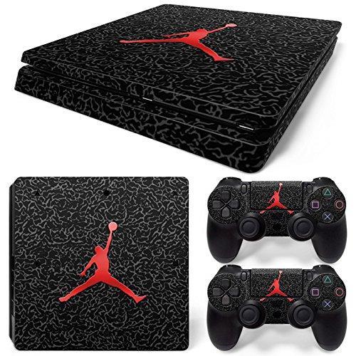 Cheap FriendlyTomato PS4 Slim Console and DualShock 4 Controller Skin Set – Basketball NBA – PlayStation 4 Slim Vinyl
