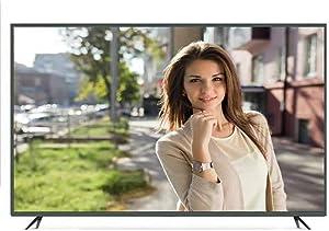OCYE 4k Smart TV Conexión WiFi De 50 Pulgadas, Smart LED TV, Proyección Inalámbrica De Teléfono Móvil, Vidrio Templado De Dureza 9H, Conexión De Computadora USB2.0