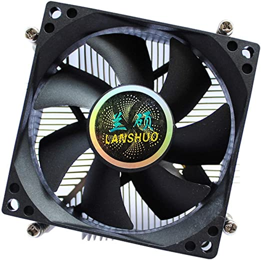 Chengleilei CPU del radiador 1366 núcleo de Cobre 4 Cables Control ...
