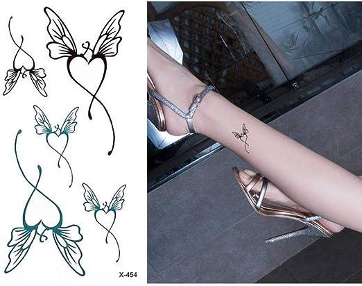 adgkitb Etiqueta engomada del Tatuaje Temporal del diseño del ...