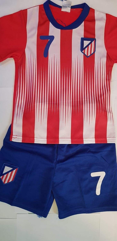 4F sport performance Maillot Short Calcetines Atlético Madrid Griezmann 10 años: Amazon.es: Deportes y aire libre