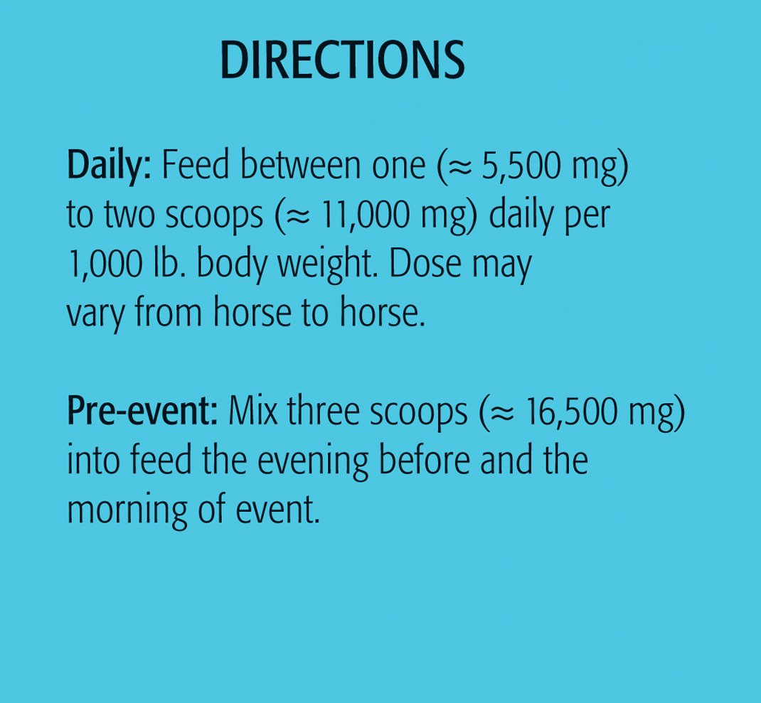 Springtime Daily Calm for Horses - 14 oz. - A Natural, Non-sedating Supplement That Helps Horses Manage Nervousness, Stress, and Anxiety. by Springtime (Image #3)