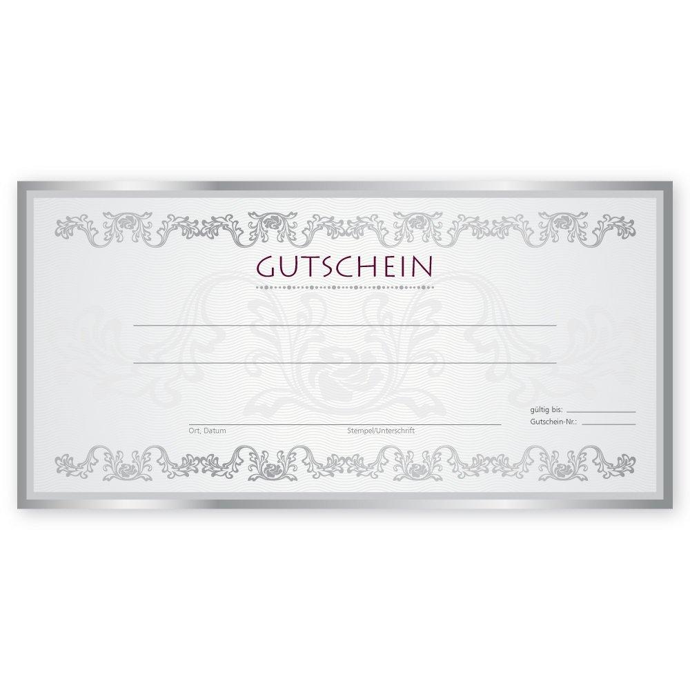 50 Weihnachtsgutscheine Gutscheinkarten XMAS RED Gutscheine Geschenkgutscheine Gutscheinkarten