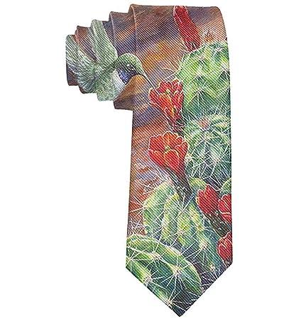 Corbata de cactus de tuna de Wilder California para hombres Fiesta ...