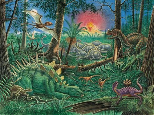 Amazing Dinosaurs Glow-in-the-Dark Puzzle - 200 Pieces by Ravensburger