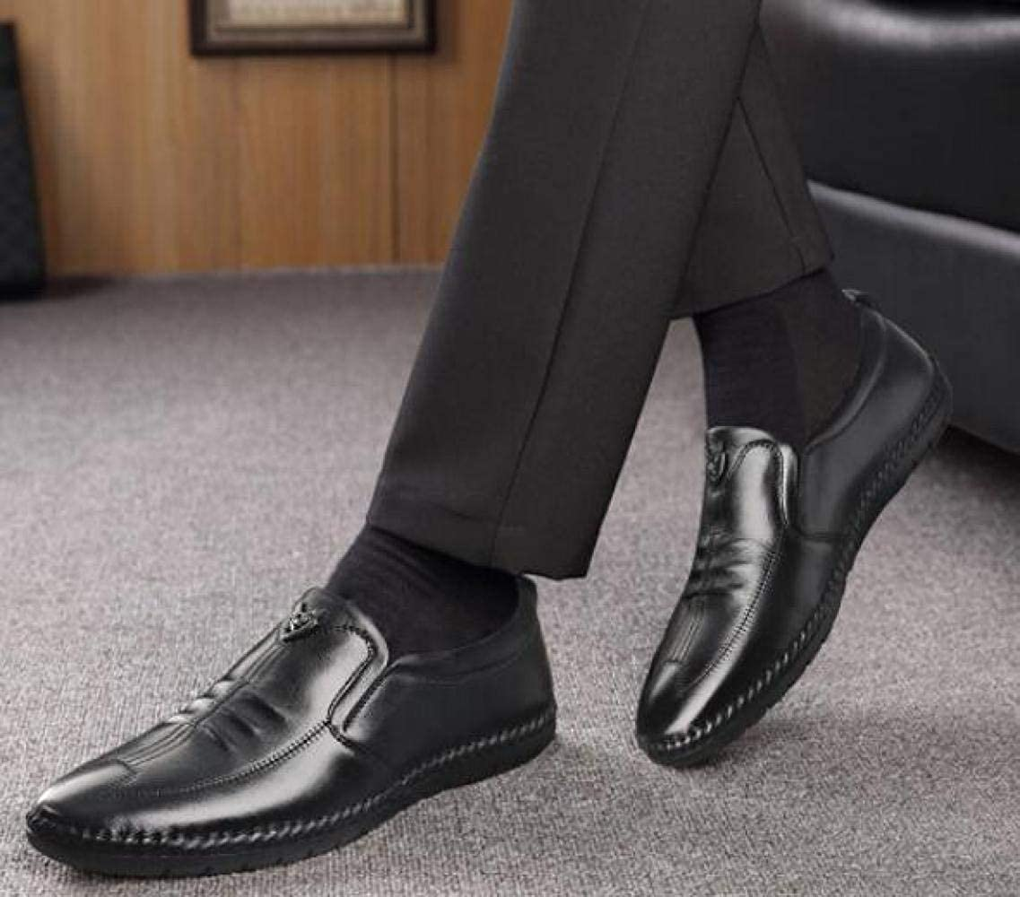 Business-Casual-Schuhe Männer Lederne Art und Weise Bequeme Breathable Breathable Breathable Schuhe 9b7e37