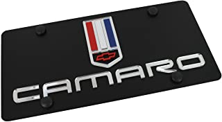 product image for Chevrolet Eurosport Daytona- Compatible Camaro on Carbon Steel License Plate