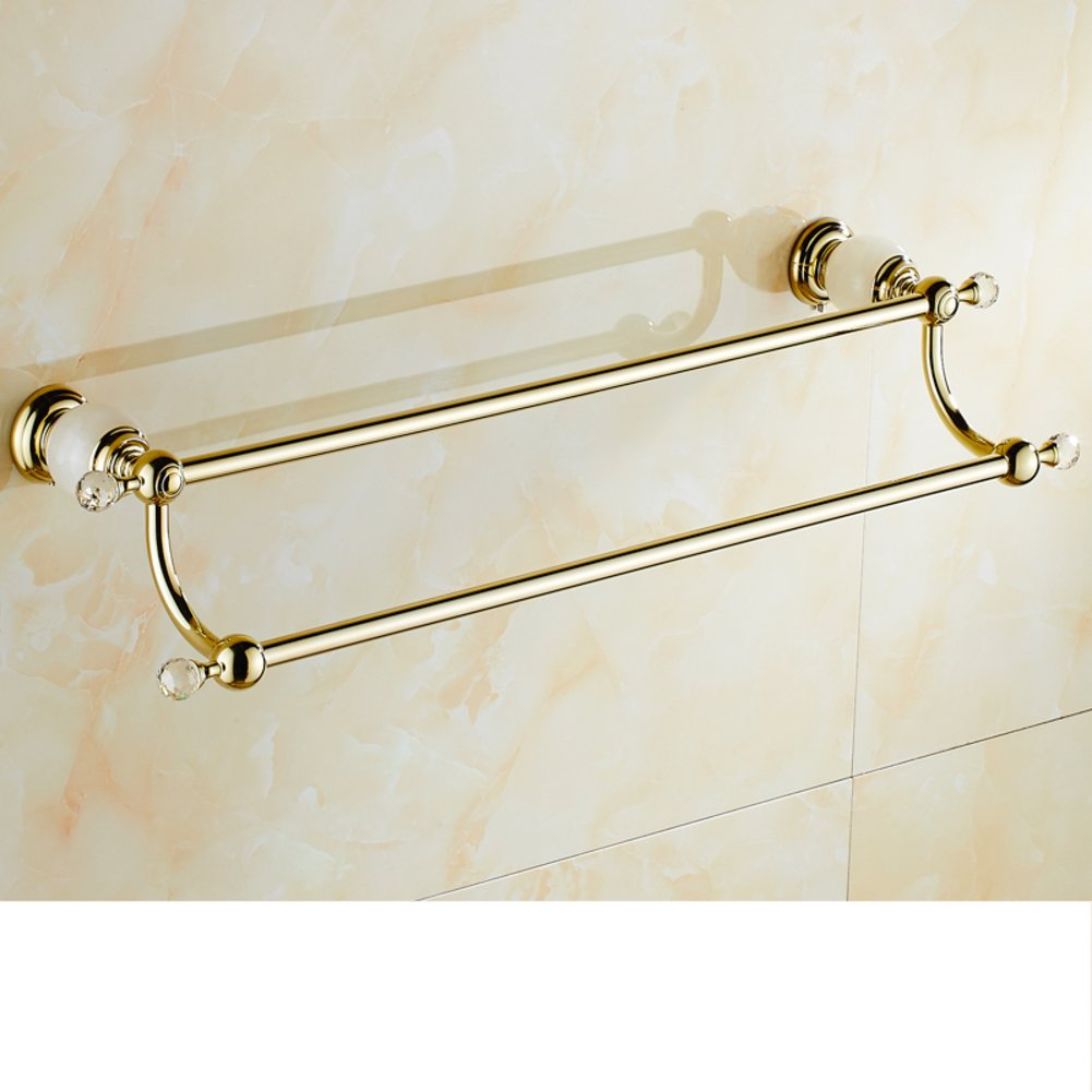 Marble Towel rack/Copper Towel Bar/Antique bathroom accessories the ...