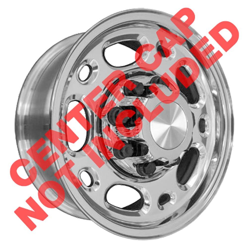 OE Wheels 16 Inch Fits Chevy 2500 3500 GMC 2500 3500 8x165.1 Suburban Style CV82 Polished 16x6.5 Rim Hollander 5079