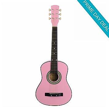 Viento 30 pulgadas 1/2 tamaño niños principiantes Guitarra Acústica ...