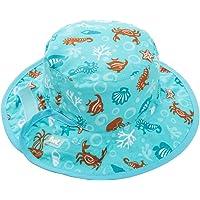 Baby Banz 7641 Banz 50+ UV Koruma Çift Taraflı Güneş Şapkası, Turkuaz