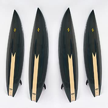 VIO Adult Children Tablas de Surf Profesionales para Principiantes Esquís Standboard Hardboard,Negro,Un