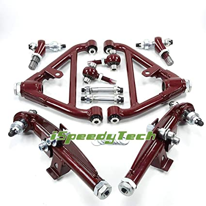 Amazon com: Ispeedytech Front Rear Lower Control Arms for