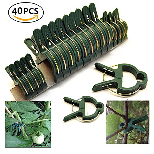 Garden Plant Support Plant Staking Clips for Vines Flower Clips for Gardening Supporting Stems,Vines,Stalks Flower Beds to Grow Upright (2 pack)