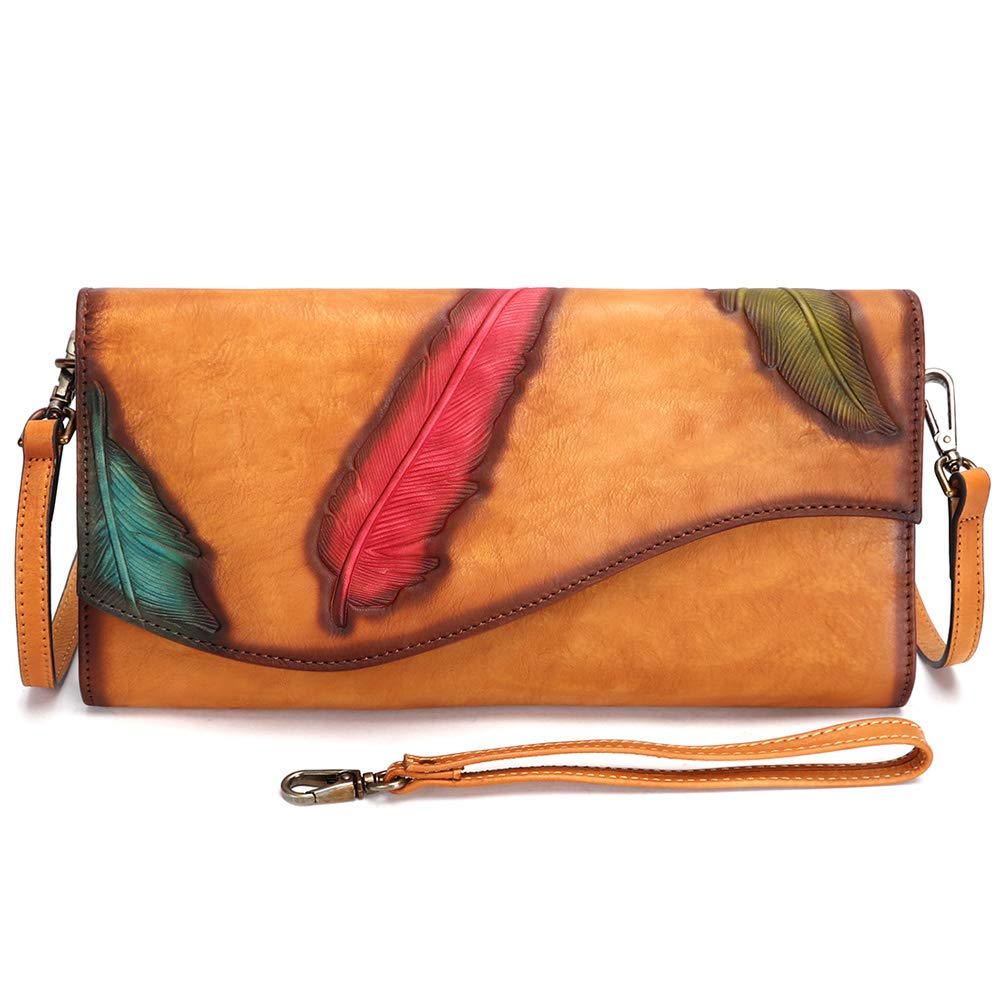 Genuine Leather Wristlet...