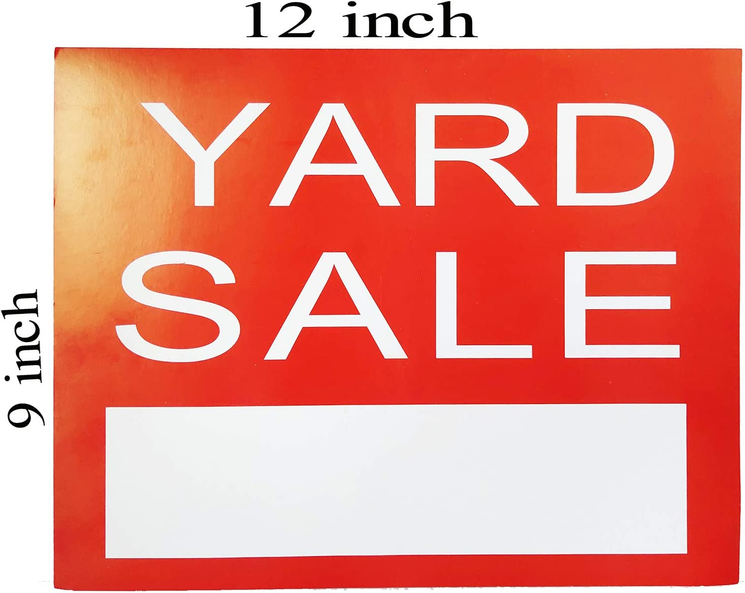 Amazon.com: Letrero de venta de Yard – Red Garage Sale Yard ...