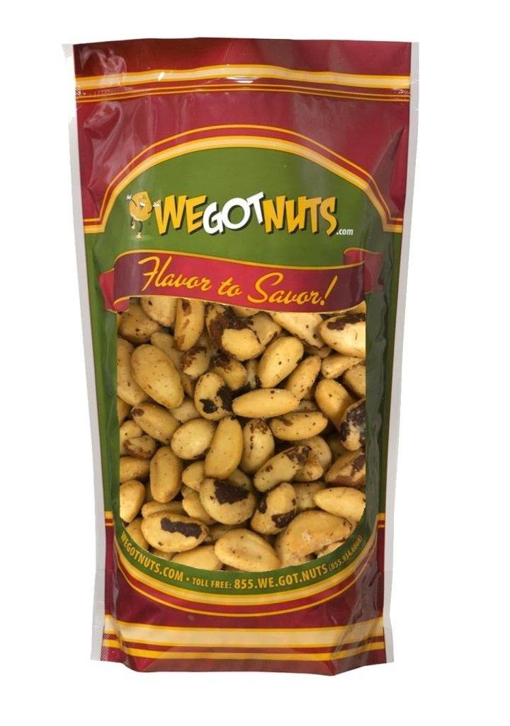 We Got Nuts Roasted Salted Brazil Nuts Bulk Bag (2lb)
