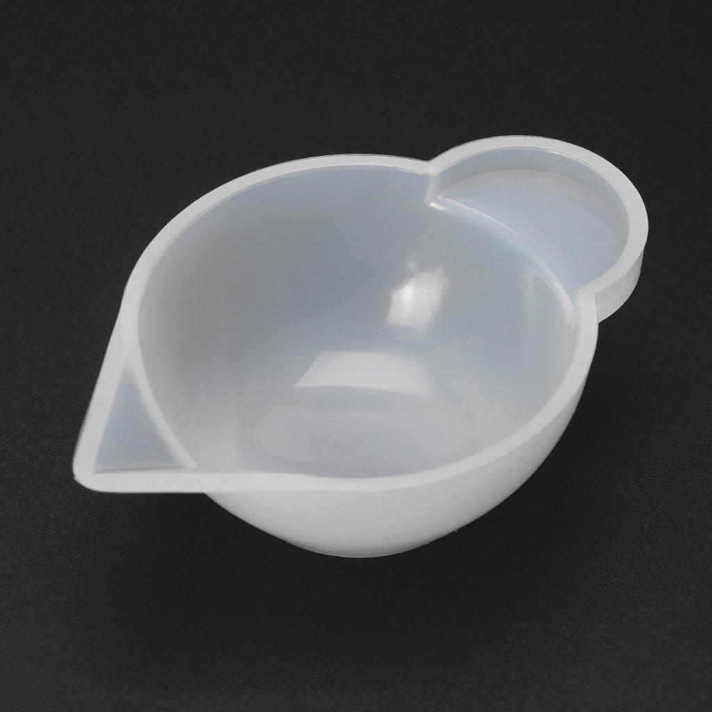 Lhuaguo Distributore di tazze di stampo in silicone DIY modulazione di gioielli in resina epossidica strumento di modulazione di colore