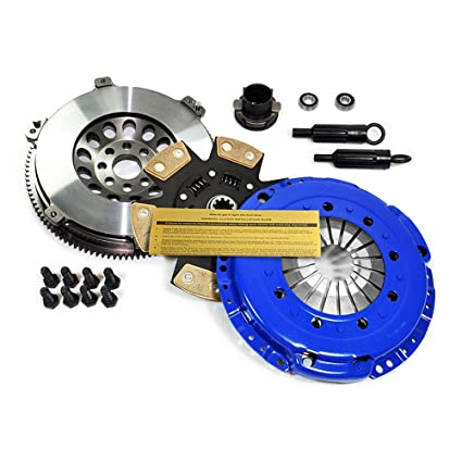 Amazon.com: EFT STAGE 3 CLUTCH KIT & LIGHTWEIGHT FLYWHEEL 92-95 BMW 325 325i 325is M50 E36: Automotive