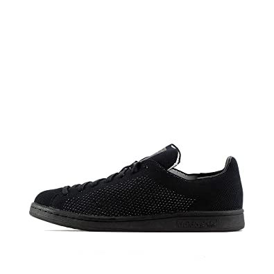 c13705968e6 adidas Mens Originals Mens Stan Smith Primeknit Trainers in Black - UK 3.5