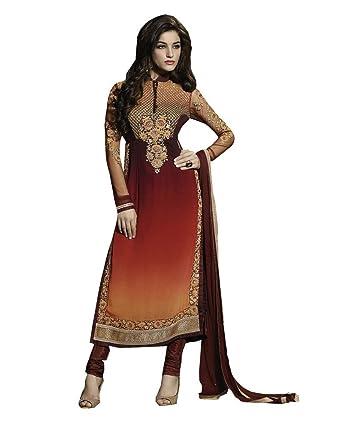Rehsha Women Bollywood Shaded Indian Party Wear Pakistani Dress