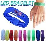 LED Wrist Watch Silicon Band Unisex