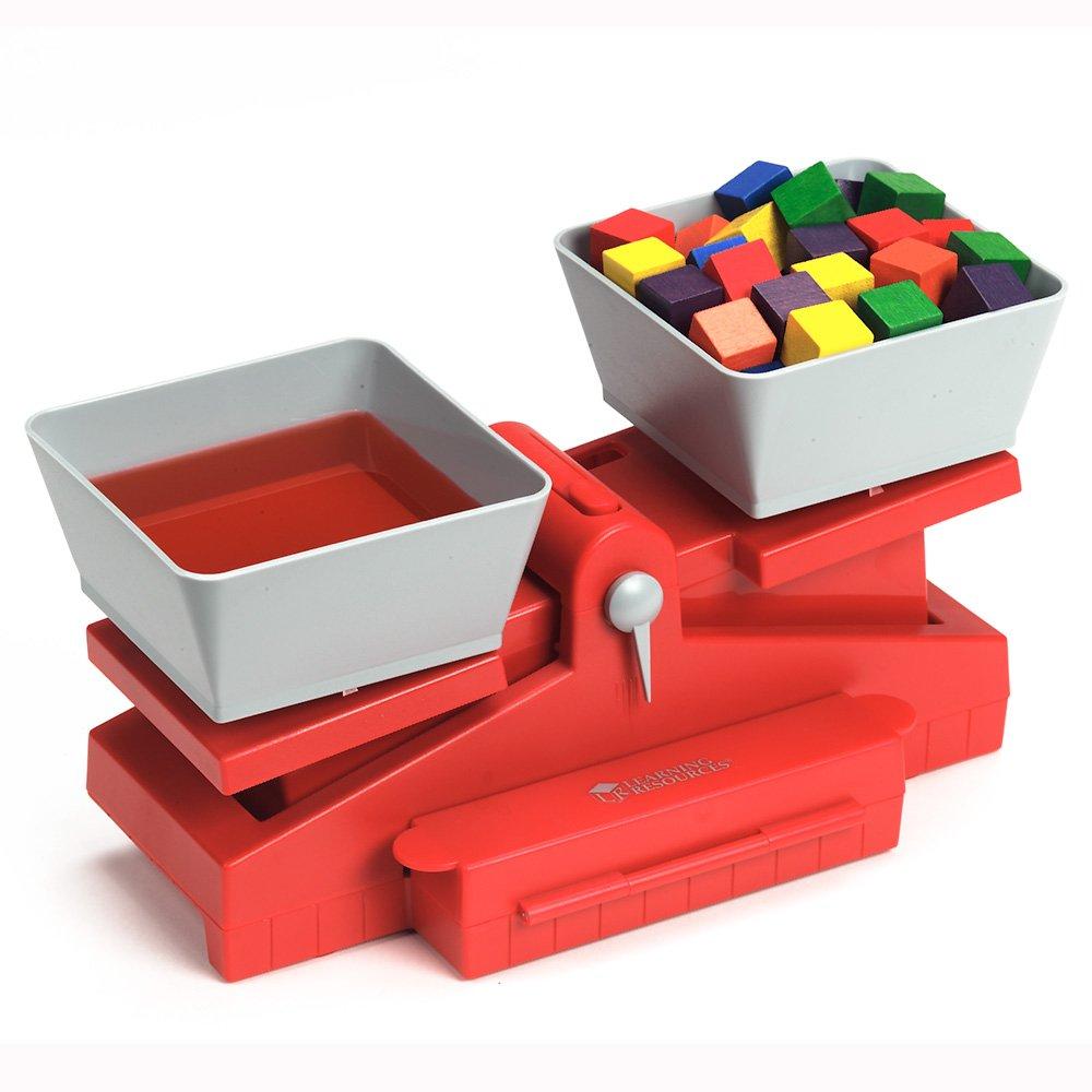 Kaufladen Waage Learning Resources Präzise Schulwaage mit Gewichten width=