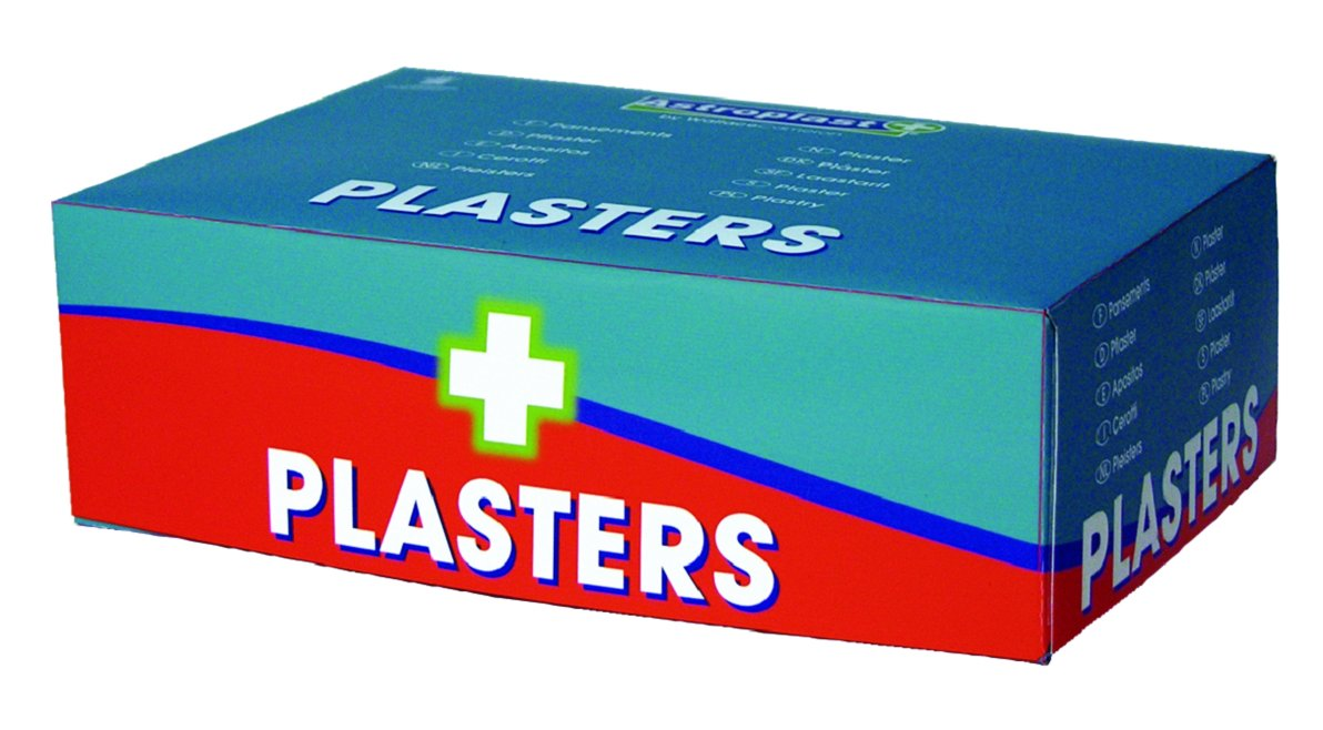 Wallace Cameron 1212051 Assorted Plasters, Wash Proof (Pack of 150) WAC10040
