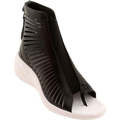 finest selection d43a8 71cc9 Nike Women s Lunar Sandiator Sky Hi Black White 705503-001 (Size  8