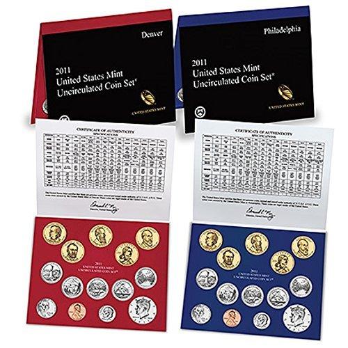 2012 US MINT P /& D  28 coin UNCIRCULATED SET